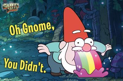 GRAVITY FALLS - GNOME