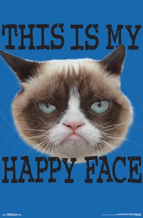 GRUMPY CAT - FACE