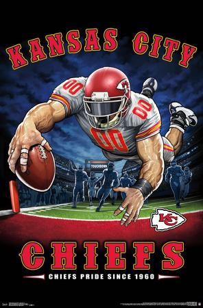 KANSAS CITY CHIEFS - END ZONE 17