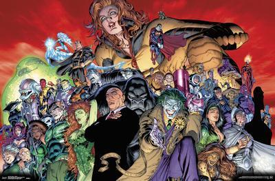 DC COMICS - VILLAINS