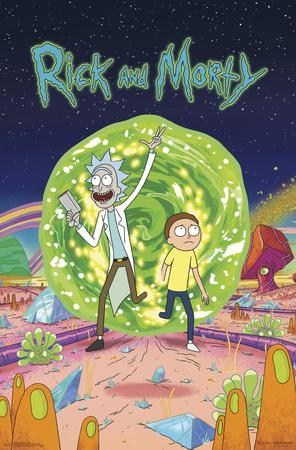 RICK AND MORTY - COVER
