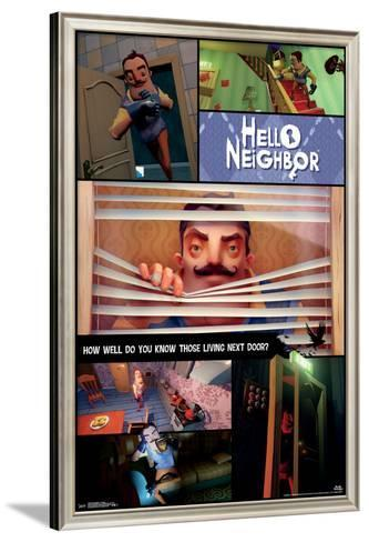 HELLO NEIGHBOR VIDEO GAME 16168 22x34 COLLAGE POSTER