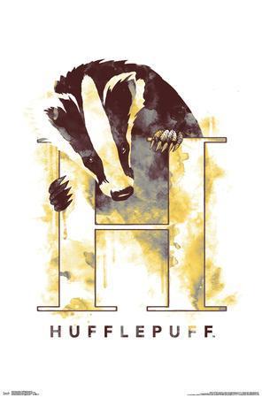 HARRY POTTER - HUFFLEPUFF ILLUSTRATED