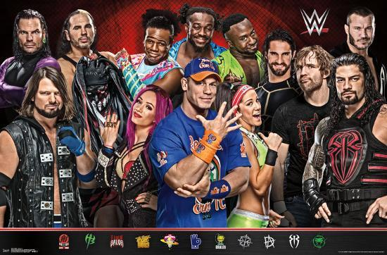 Wwe Group 17 Prints At Allposters Com