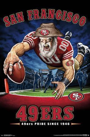 SAN FRANCISCO 49ERS - END ZONE 17