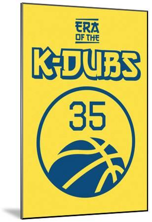 Era Of The K Dubs (Blue On Gold)