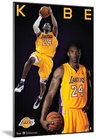 Kobe Bryant Los Angeles Lakers Nba Sports Poster