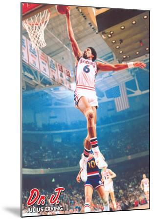 Dr J & Julius Erving - Dunk