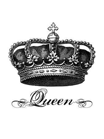 Crown Queen Black