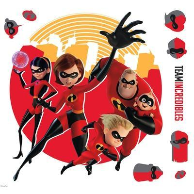 Incredibles 2 Peel And Stick Giant Wall Decals