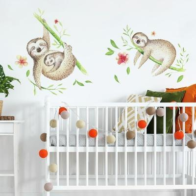 Lazy Sloth Giant Wall Decals
