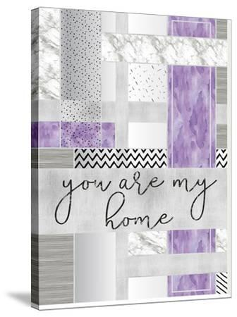 Silver You Are My Home Purple