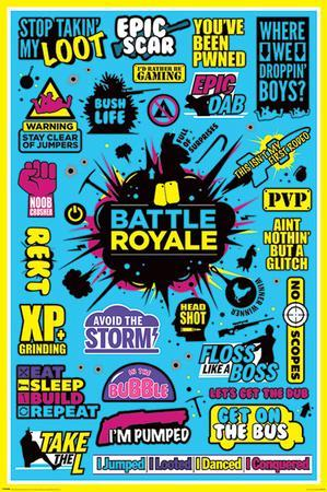 Battle Royale Infographic