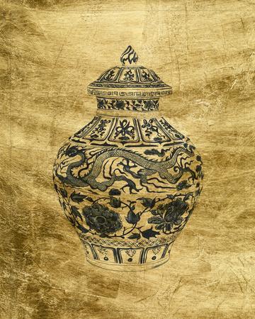 Lustr Chinese Vase III