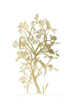 Gold Foil Chinoiserie II