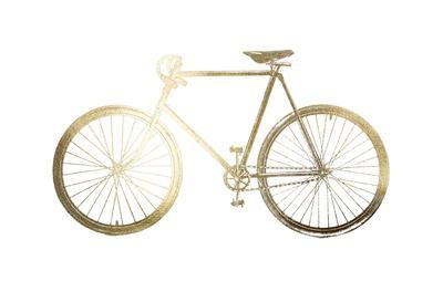 Gold Foil Bicycle
