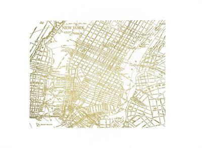 Gold Foil Maps II