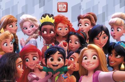 Wreck It Ralph 2 - Princess