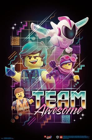 Lego Movie 2 - Team Awesome