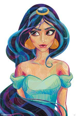 Jasmine - Stylized