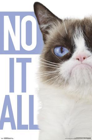 Grumpy Cat - Blue