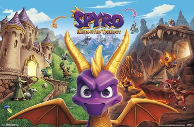Spyro Reignited - Key Art