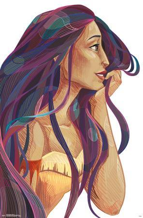 Pocahontas - Stylized