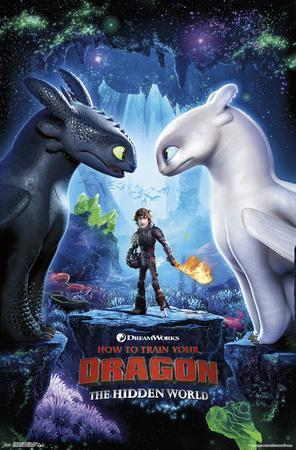 How to Train Your Dragon 3 - Key Art