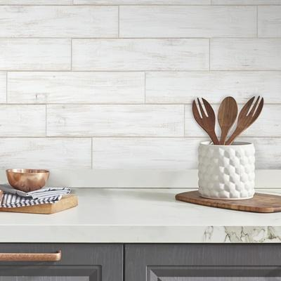 Shiplap Wood Plank Peel And Stick Giant Wall Decals