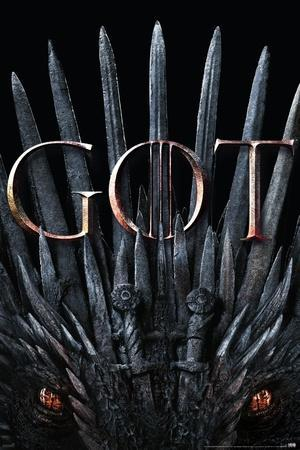 Game of Thrones - S8 - Iron Throne & Dragon