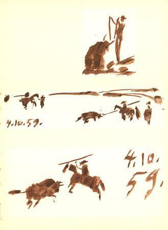 Man on Horse vs Bull (3)