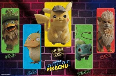 Detective Pikachu - Group