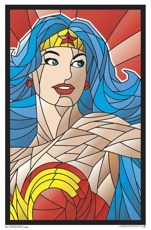 Black Light - Neon Wonder Woman