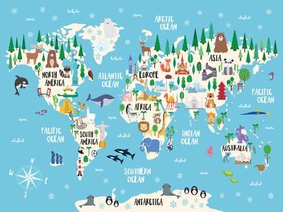 Cultural World Map