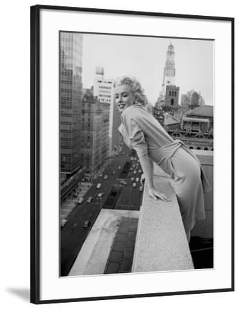 Marilyn Monroe at the Ambassador Hotel, New York, c.1955