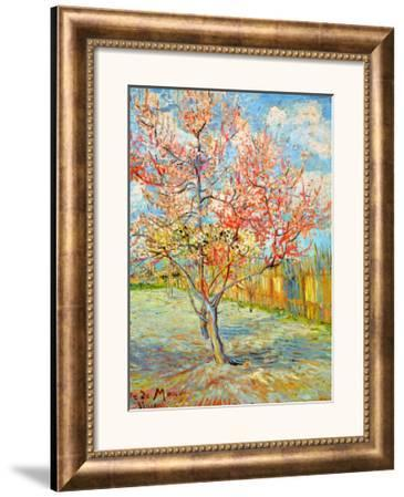 Peach Tree in Bloom at Arles, c.1888