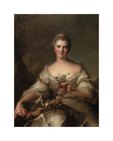 Portrait de Madame de La Porte, 1752