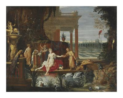 Bathseba in the Bath Receiving the Letter from King David
