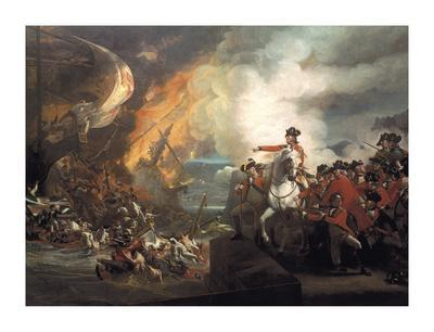 Defeat Of The Floating Batteries At Gibraltar