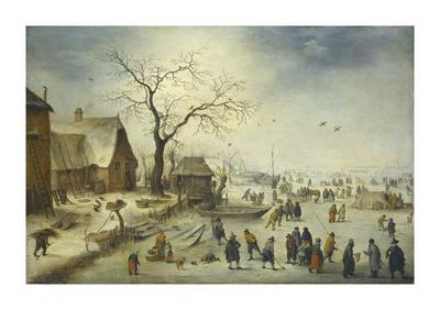 Villagers on the Ice