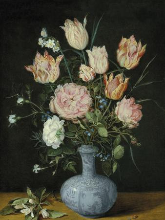 Flowers In A Wan-Li Vase