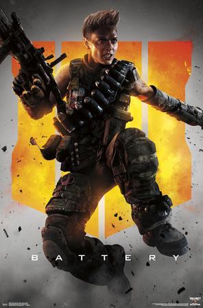 Call of Duty: Black Ops 4 - Battery Key Art