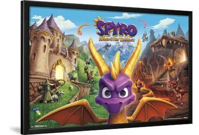 SPYRO REIGNITED - KEY ART
