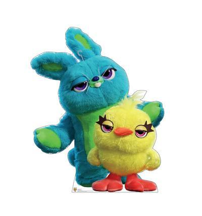 Disney/Pixar Toy Story 4 - Ducky and Bunny