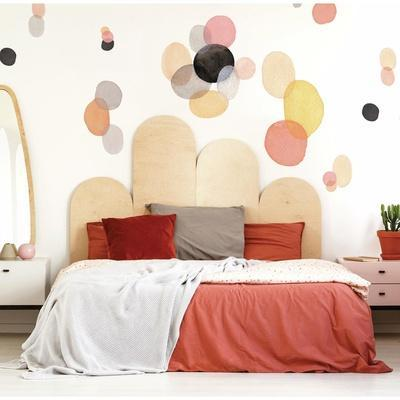 Abstract Watercolor Shapes Peel And Stick Giant Wall Decals