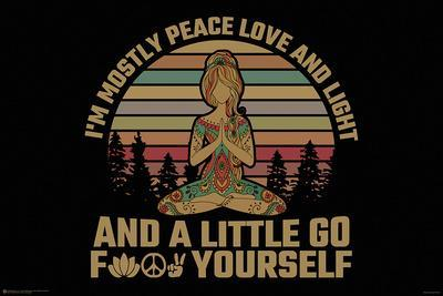 PEACE LOVE LIGHT