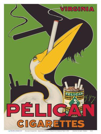 Pelican Cigarettes - American Virginia Tobacco