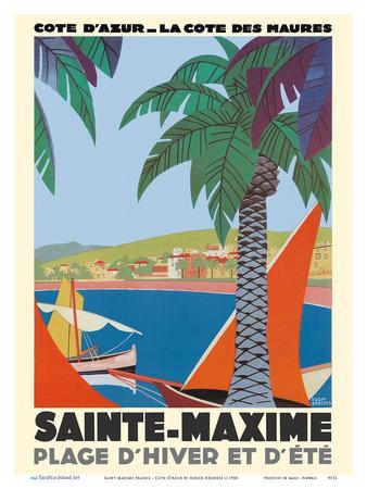 Saint Maxime France - Cote D'Azur French Riveria