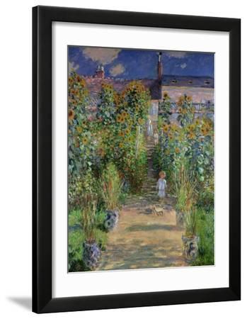 The Artist's Garden at Vetheuil  1880
