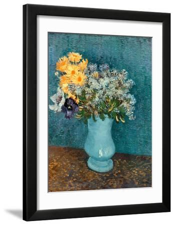 Vase of Lilacs  Daisies and Anemones  c.1887